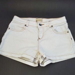 White shorts Roxy denim size 14